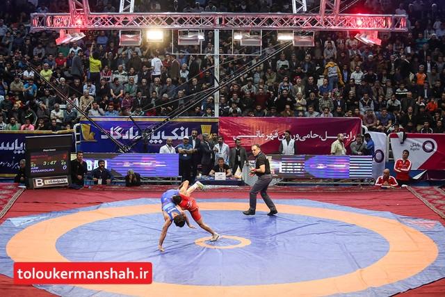 مصاف تیموری و حسناف بهترین مبارزه جام تختی از نگاه اتحادیه جهانی