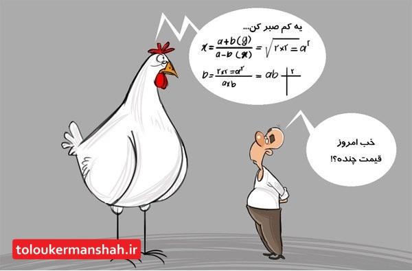 قیمت ۱۱۵۰۰تومان هیچگاه رنگ واقعیت به خود نگرفت و مرغ همچنان کیلویی حدود ۱۵ هزار تومان است❗️  ❗️ بالا رفتن قیمت مرغ متاثر از بالا رفتن قیمت گوشت قرمزاست
