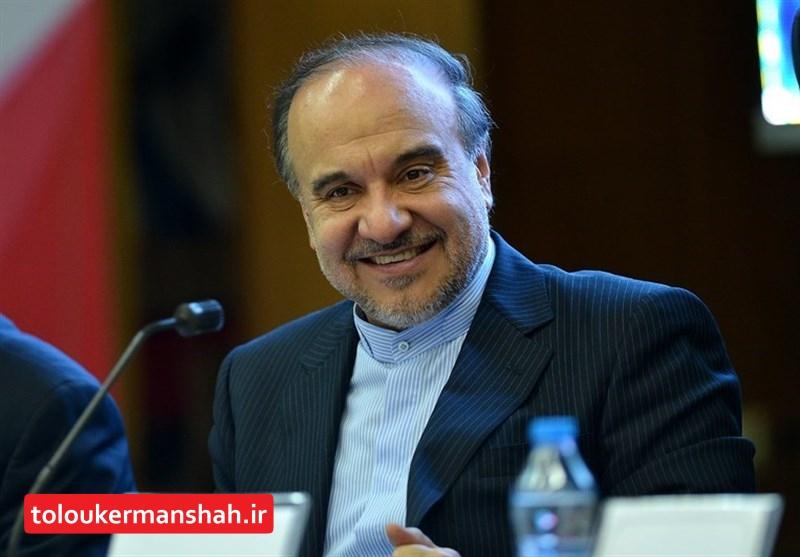 سفر وزیر ورزش و جوانان به کرمانشاه
