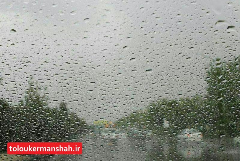 پاوه بیشترین بارش را در ۲۴ ساعت اخیر به خود اختصاص داد