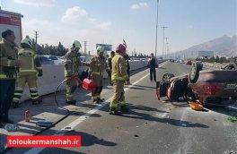 سرعت غیرمجاز علت ۴۰ درصد تصادفات در جادههای کرمانشاه است