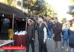 پذیرایی سیاه چادرهای عشایری کرمانشاه از مهمانان نوروزی