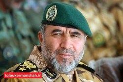 بازدید فرمانده نیروی زمینی ارتش جمهوری اسلامی از مرزهای غربی