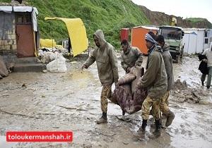 آغاز تخلیه خانههای مجاور رودخانه قره سو در کرمانشاه