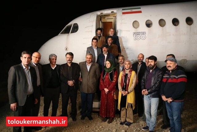 بازدید نمایندگان منطقه کردستان و کرمانشاه از  سریال سعید آقاخانی/ تشکر نمایندگان برای توجه به قوم کُرد و ساخت این سریال