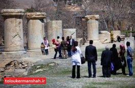 """شهر معبد """"الهه آبها"""" چشم انتظار بیش از ۱۰۰ هزار گردشگر نوروزی"""