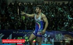 بهمن تیموری دومین طلایی ایران در کشتی آزاد قهرمانی آسیا