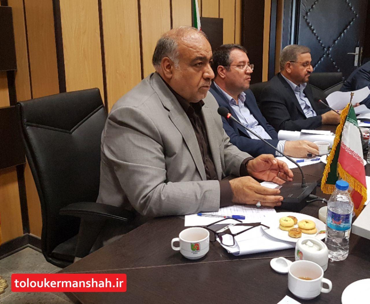 بازگشایی مرز خسروی و ایجاد شهرک صنعتی مشترک ایران و عراق مطالبات مردم و استاندار کرمانشاه
