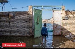 ممنوعیت ساختوساز مجدد منازل مسکونی در حریم رودخانه قرهسو کرمانشاه