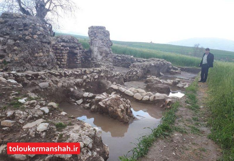 میراث فرهنگی کرمانشاه در سیل ۱۹ میلیارد و ۸۰۰ میلیون تومان خسارت دید