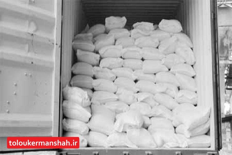 ماموران گمرک سومار ۲۵ تن آرد قاچاق را کشف کردند