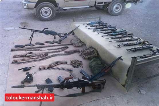 انهدام یک تیم تروریستی در منطقه عمومی جوانرود