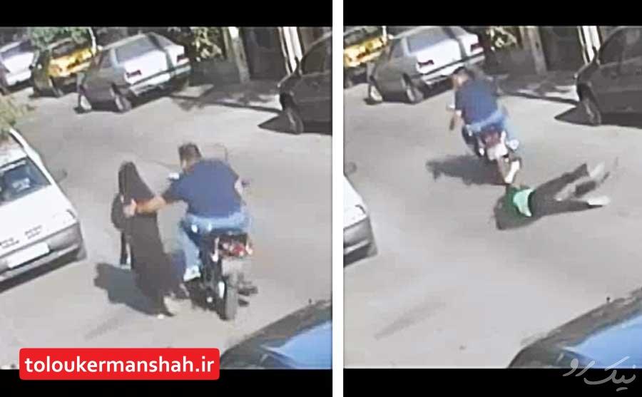 انهدام باند سارقان قاپ زن در کرمانشاه