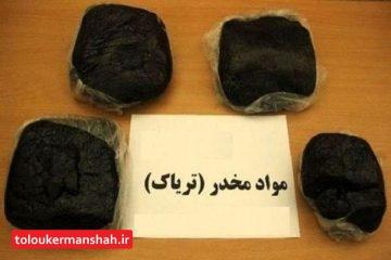 """انهدام باند بزرگ """"مواد مخدر"""" در کرمانشاه/ کشف ۱۴۸ کیلوگرم """"تریاک"""""""