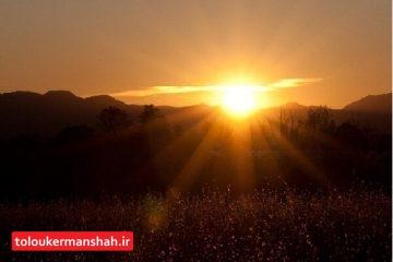 تابستان امسال هوای کرمانشاه دیرتر از شرایط نرمال خنک میشود