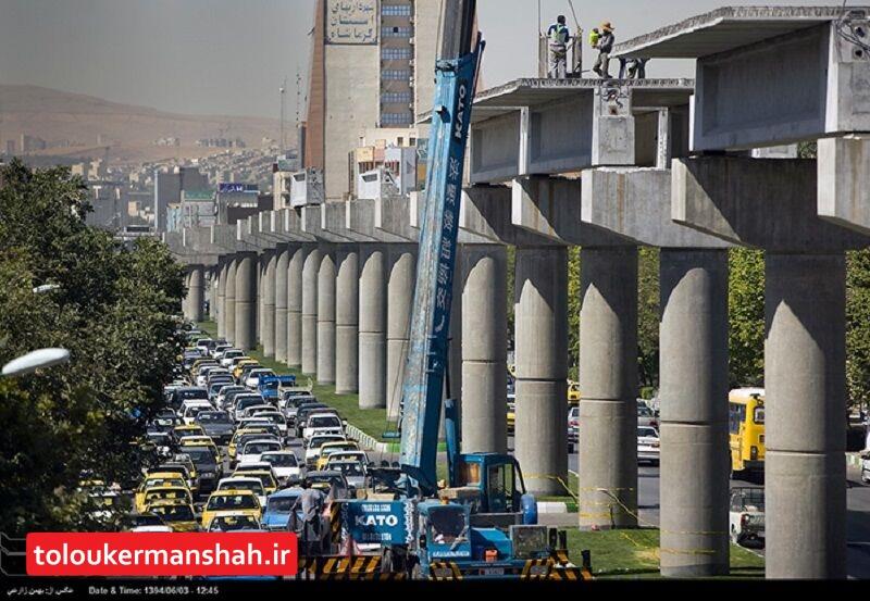 مرحله اول قطار شهری کرمانشاه سال ۱۴۰۰ به بهره برداری میرسد