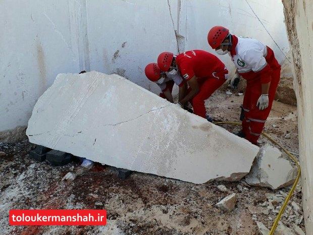 مرگ کارگر جوان در معدن سنگ هرسین