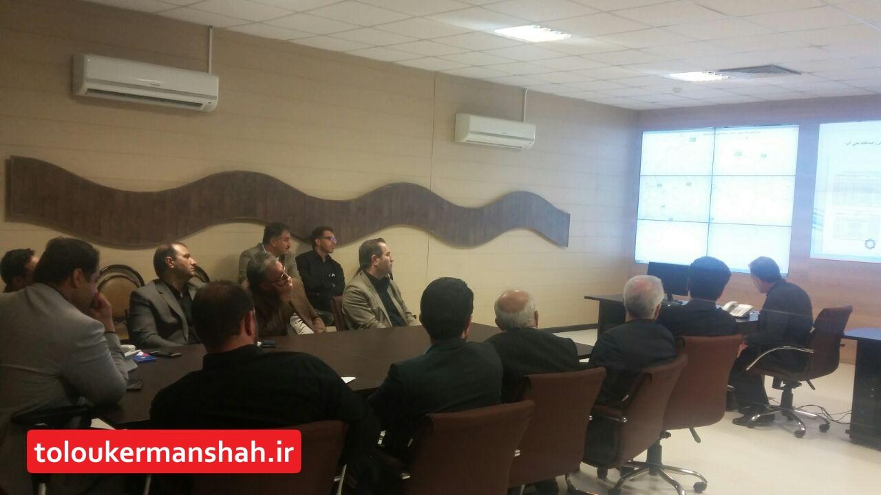راه اندازی فاز اول سامانه رصد ، پایش و مدیریت داده های آبی استان کرمانشاه