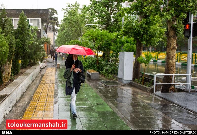 شروع بارشهای موثر پاییزی کرمانشاه از نیمه آبان/ دمای پاییز امسال از سه چهار سال اخیر خنکتر خواهد بود/بارشها در حد نرمال است