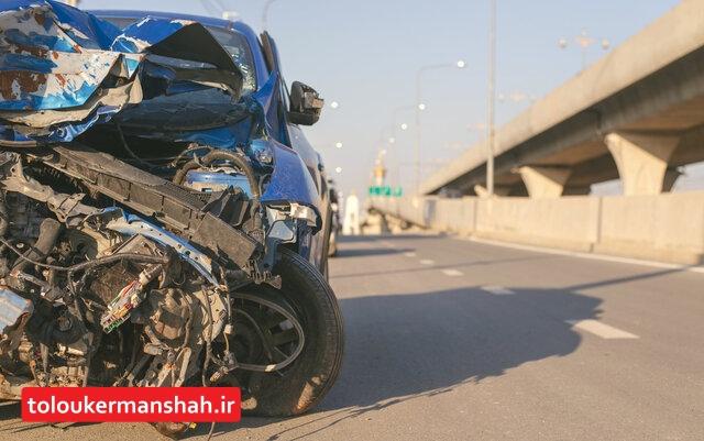 کاهش ۱۰ درصدی تصادفات فوتی درون شهری کرمانشاه