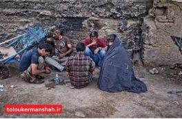 دستگیری ۱۰ خرده فروش و معتاد متجاهر در گیلانغرب
