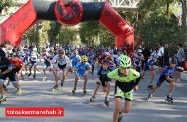 کرمانشاه قهرمان رقابتهای اسکیت ماراتن کشور شد