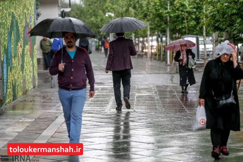 میانگین بارش باران در کرمانشاه به ۲۷ میلیمتر رسید