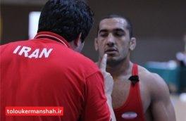 آزادکار کرمانشاهی از دنیای قهرمانی خداحافظی کرد