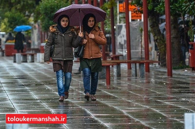 ورود سامانه بارشی به جو استان کرمانشاه