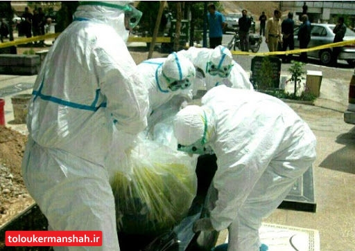 تدفین جانباختگان کرونا براساس پروتکل وزارت بهداشت/ روی اجساد آهک ریخته نمی شود
