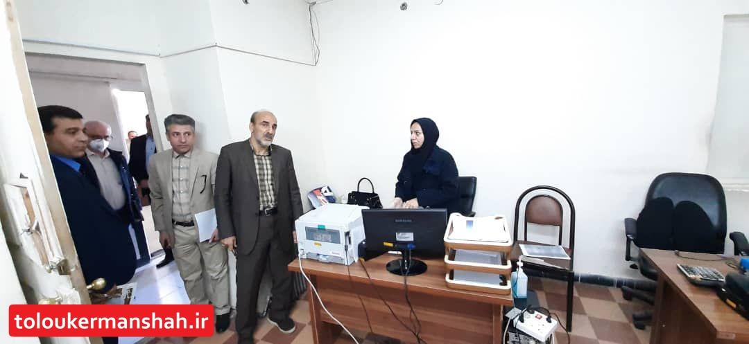 سرکشی شهردار کرمانشاه از واحدهای مختلف شهرداری