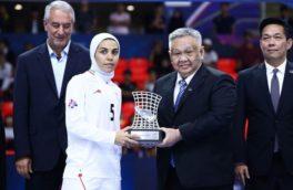 سارا شیربیگی:حتی یک تبریک از مسئولین کرمانشاه نداشتم/بی توجهی به ورزش استان دلیل مهاجرت ورزشکاران است!