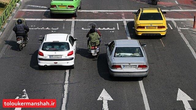 انتقاد رییس پلیس راهور از افزایش تردد در خیابانهای کرمانشاه