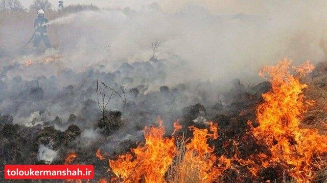 در عملیات اطفاء حریق روز گذشته هیچ انفجار مینی به ثبت نرسیده است