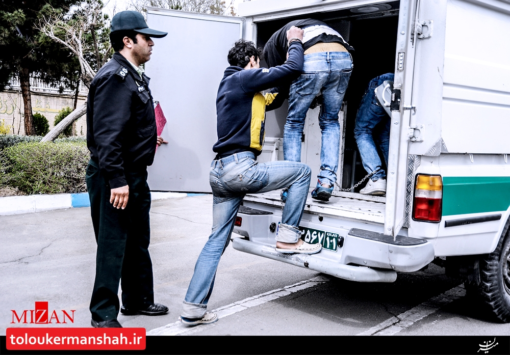 """انهدام باند سارقان در """"کرمانشاه"""""""