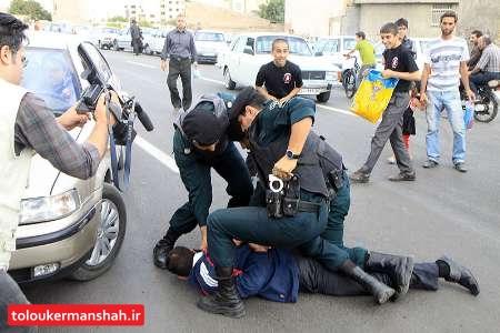 سارق منازل شهروندان جوانرودی در لرستان  دستگیر شد