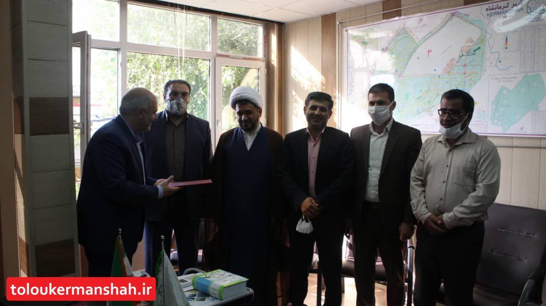 قائم مقام شهردار منطقه سه معارفه شد
