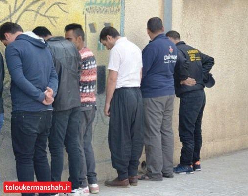 دستگیری عاملان تیراندازی در کرمانشاه