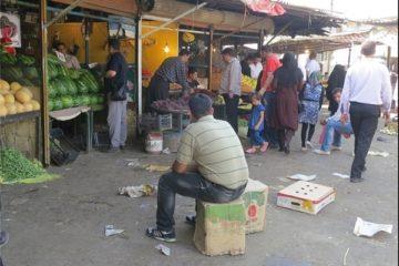 """وضعیت شهرستان کرمانشاه """"قرمز"""" است/در بازار روز کرمانشاه پروتکل های بهداشتی رعایت نشود ناچار به تعطیلی آن خواهیم بود"""