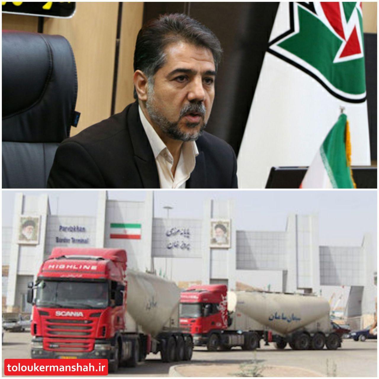 بلاتکلیفی کامیونهای حامل سوخت در مرز ایران و عراق تنها مربوط به راهداری نیست