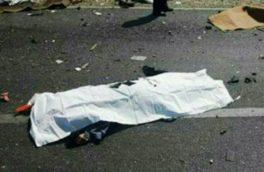 """یک کشته و ۴ زخمی در سانحه رانندگی  """"کرمانشاه"""""""