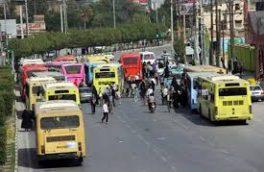 محدودیتهای دو هفتهای شامل ناوگان حمل و نقل عمومی نمیشود