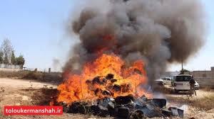 امحا بیش از ۴۷ هزار تن مواد غذایی فاسد در کرمانشاه