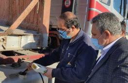 تمام مرزهای رسمی کرمانشاه به دیپ دیجیتالی باک کامیونها مجهز شد