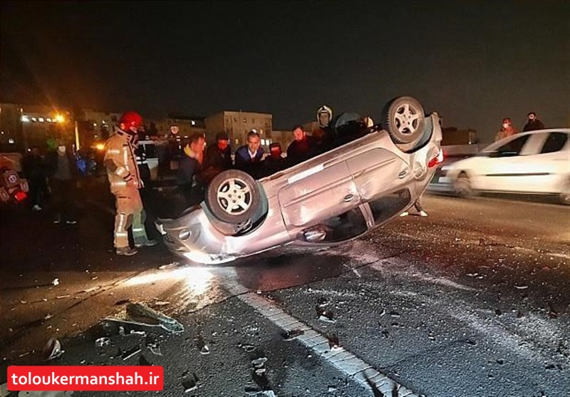 ۴۰درصد تصادفات استان کرمانشاه در ۱۴۸ نقطه حادثهخیز بهوقوع میپیوندد