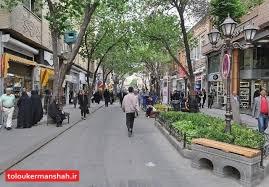 ساخت پیاده راه ممنوع، کسبه مشغول کارند