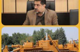 تعمیر و راه اندازی ۵۷۰ دستگاه از ماشین آلات راهداری استان کرمانشاه