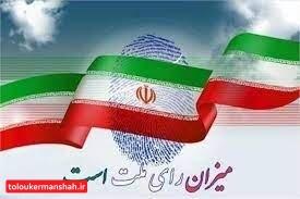 تایید صلاحیت ۹۶ درصد داوطلبان شورای اسلامی روستاهای استان کرمانشاه