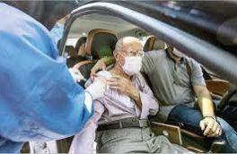 """آمادهسازی ورزشگاه ۱۵خرداد برای""""واکسیناسیون خودرویی"""" در کرمانشاه"""