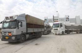 واردات و صادرات کالا از مرز رسمی پرویزخان به ۵۵۲ هزار تن رسید
